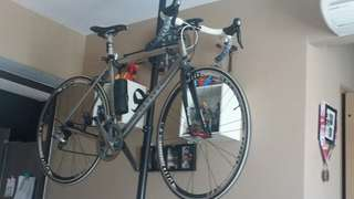 Titanium frame road bike (size52)