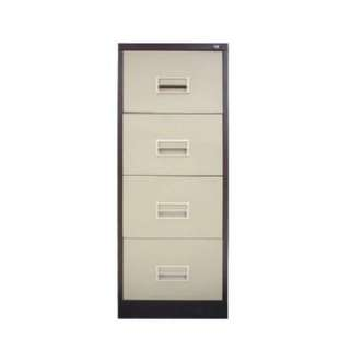 4D Filing Cabinet with Recess Handle