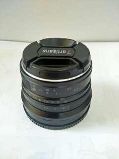 Lensa 7artisans 25mm F 1.8 Sony Nex