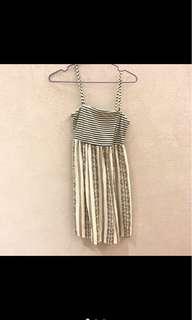 🚚 Roxy條紋洋裝s