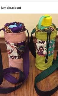 Handmade Water Bottle Bag