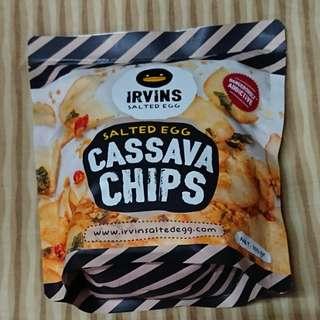 Irvins魚皮/薯片/木薯片