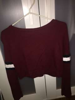 Crop sweater forever 21