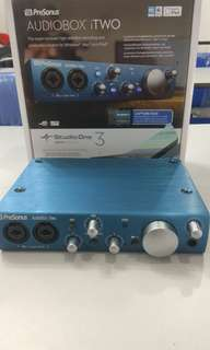 Presonus Itwo AudioBox USB Audio Interface