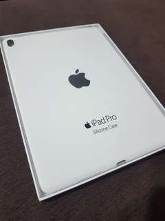 Ipad Pro 9.7 white silicon case (Brand New)