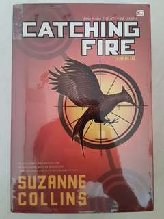 CATCHING FIRE (preloved)