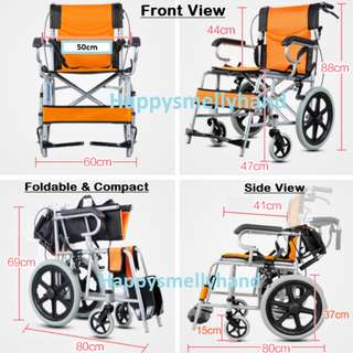 BNIB Wheelchair - Car Friendly