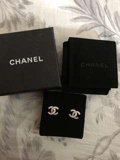 Chanel cc earring 耳環