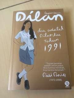 Novel Dilan murah