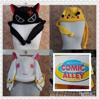 FREE SF MANILA👍COMIC ALLEY HAT BUNDLES OF 3