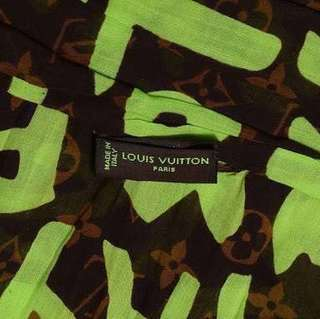 LIMITED EDITION LOUIS VUITTON STEPHEN SPROUSE GRAFFITI SCARF