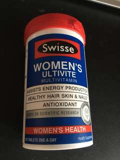 Swisse Women's Ultivite Multivitamin