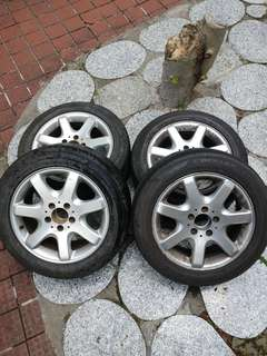Benz SLK 車軚連鈴(全套4條)