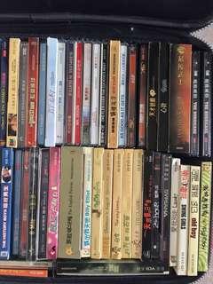 95%-100% 全新 VCD DVD 經典電影 共60多套 $150