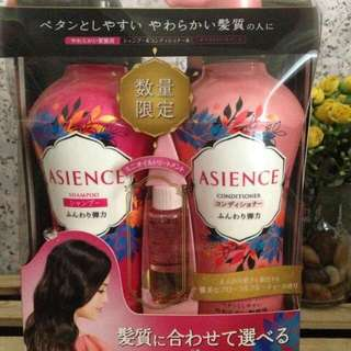 Asience Shampoo And Conditioner Set
