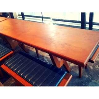 Custom Made Teak Dining Table