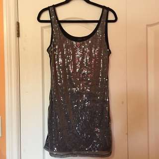 Material Girl Sequin Dress -Size L