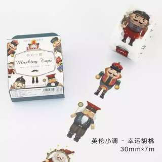 Washi Tape (Nutcracker) (Ref No.: 285) / Sample 50cm