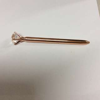 Rush Sale Rose Gold Diamond Pen