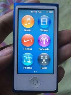 iPod NANO (Blue) 7th Gen 16GB