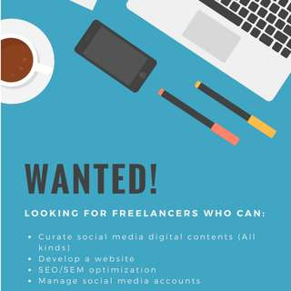 Looking for Freelancer