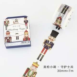 Washi Tape (Soldier) (Ref No.: 286) / Sample 50cm