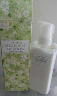 Crabtree and Evelyn body lotion