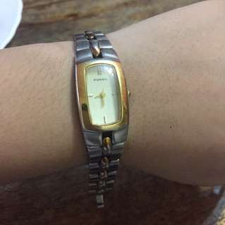 REPRICED Authentic Fossil Watch