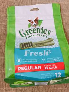 GREENIES™ Fresh Regular Dog Dental Treats