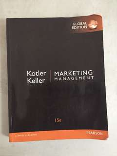 Marketing Management 15 E Original