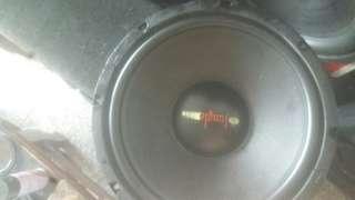 重低音喇叭,單體,單1