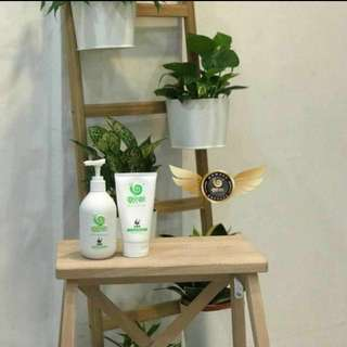 Wowo hair shampoo + mask set  pure ginger oil control hair mask