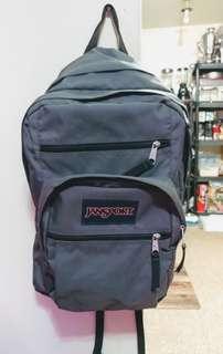Grey Jansport Big Student Backpack