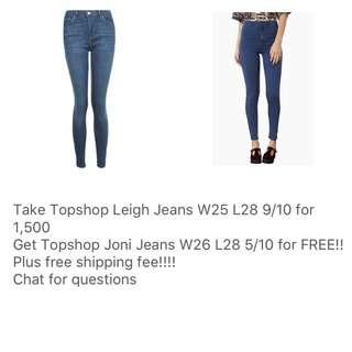 TOPSHOP LEIGH + FREE TOPSHOP JONI