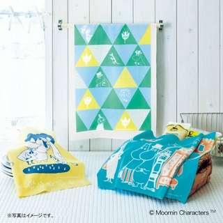 日本製MOOMIN 北歐風 多用途手巾 布料巾
