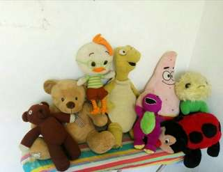 Combo soft toys