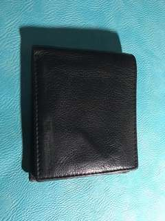 Soft bifold leather wallet
