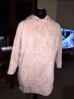 Bleach pink hoodie