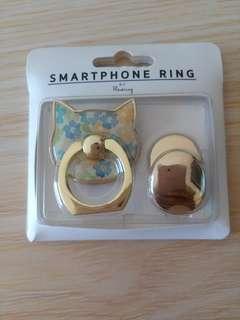 貓型手機指環扣 cat shaped mobile phone ring