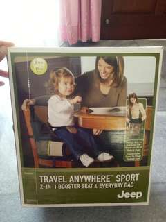 2in1 Booster Seat & Everyday Bag