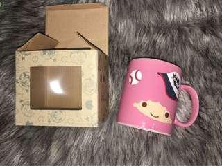 粉紅色馬克杯 卡通馬克杯#超取半價#5/22免運 #五十元好物