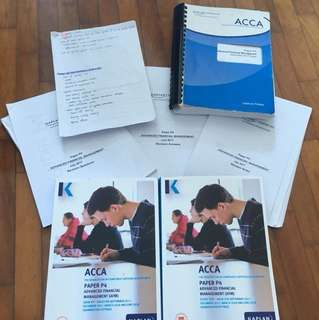 ACCA P4 Latest Kaplan notes