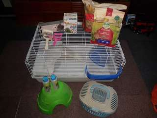 Small animal cage (rabbit/guinea pig)