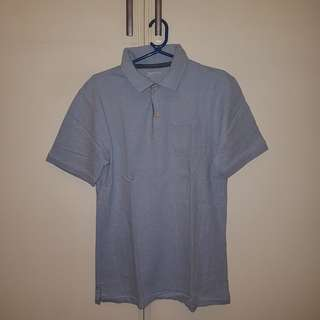 Denim blue Polo shirt
