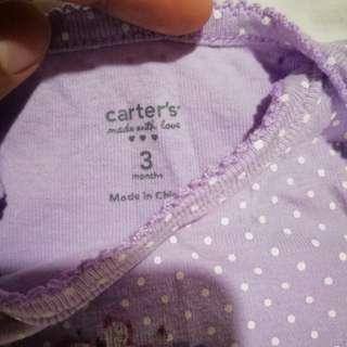 Carter's pre loved Onesies 130php each