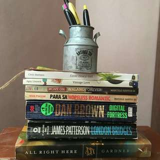 Preloved Books for salee