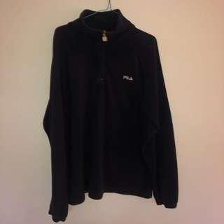 Fila fleecy 1/4 jumper