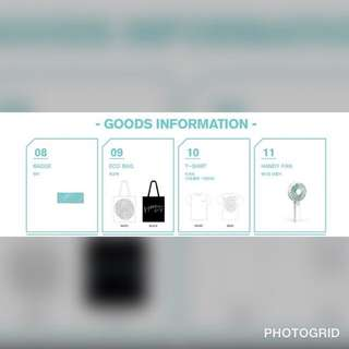 Shinee official merchandise