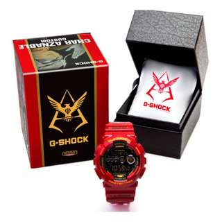 G-Shock Char Aznable Limited Edition Watch