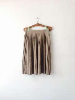 Zara Knit Skirt 百摺裙